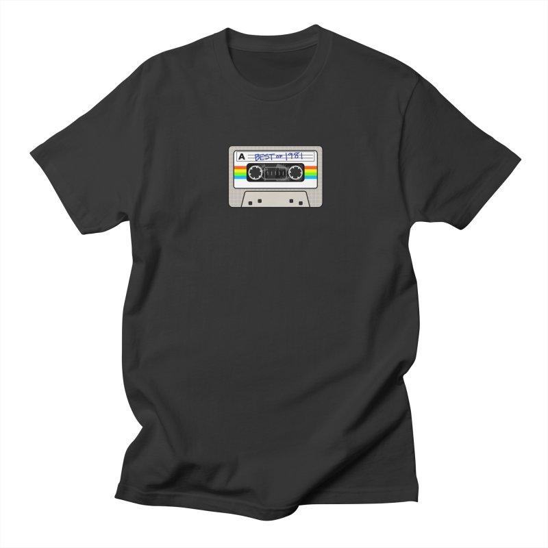 Mixtape: Best of 1981 Men's Regular T-Shirt by Tees, prints, and more by Kiki B