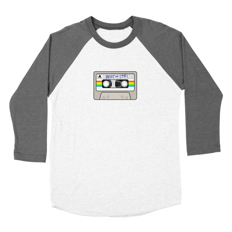 Mixtape: Best of 1981 Men's Baseball Triblend Longsleeve T-Shirt by Tees, prints, and more by Kiki B