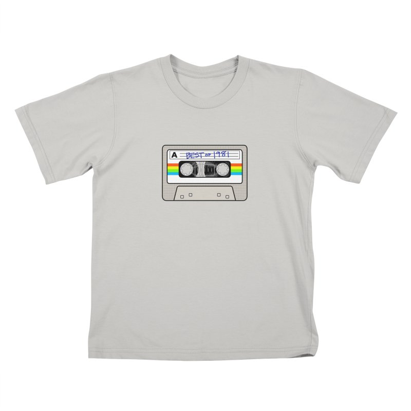 Mixtape: Best of 1981 Kids T-shirt by Tees, prints, and more by Kiki B