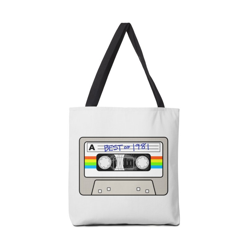Mixtape: Best of 1981 Accessories Bag by Tees, prints, and more by Kiki B