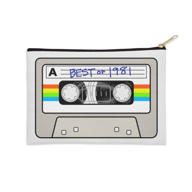 Mixtape: Best of 1981 Accessories Zip Pouch by Tees, prints, and more by Kiki B