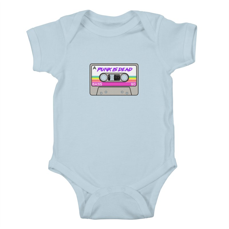 Mixtape: Punk is Dead Kids Baby Bodysuit by Tees, prints, and more by Kiki B