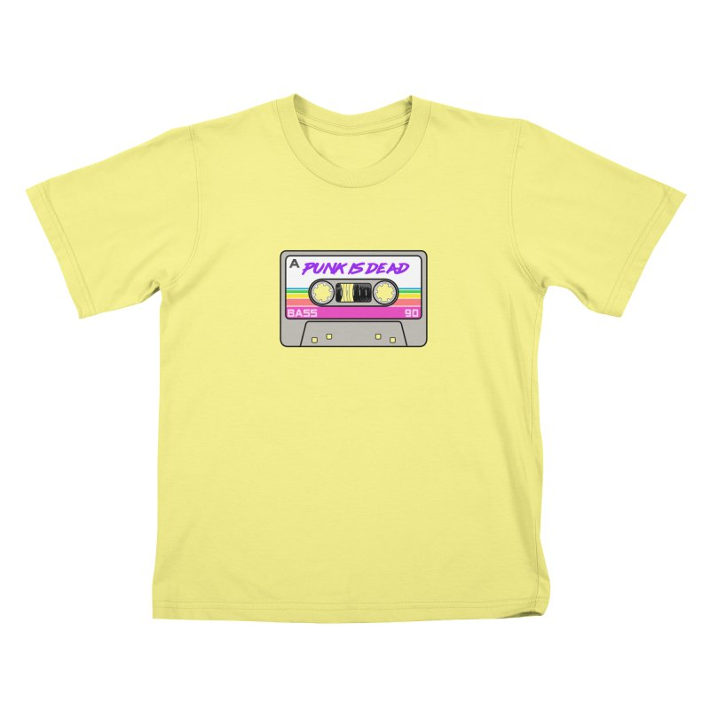 Mixtape: Punk is Dead Kids T-shirt by Tees, prints, and more by Kiki B