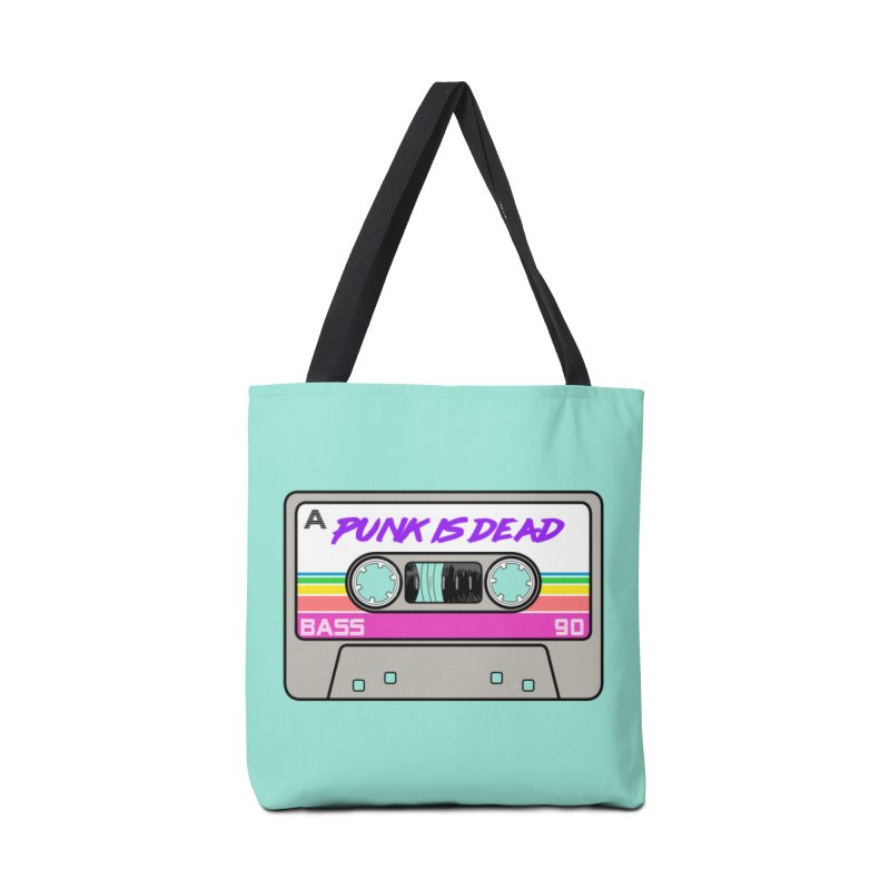 Mixtape: Punk is Dead Accessories Bag by Tees, prints, and more by Kiki B