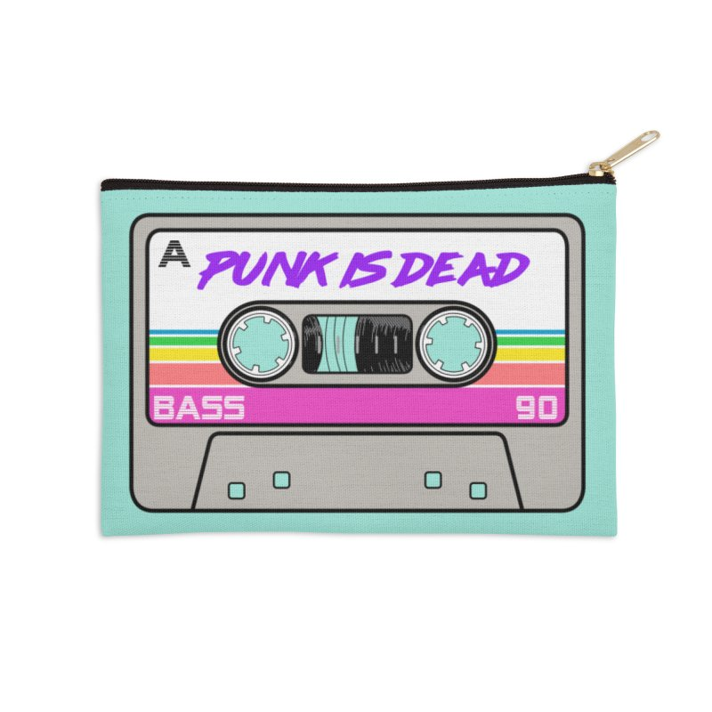 Mixtape: Punk is Dead Accessories Zip Pouch by Tees, prints, and more by Kiki B