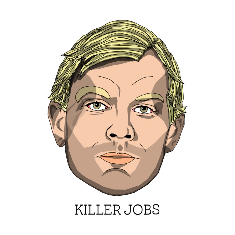 Jeffrey Dahmer Sticker Accessories Sticker by KILLER JOBS: Serial Killer Podcast