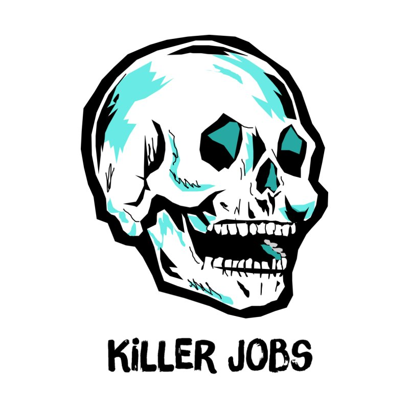 Skull Logo Accessories Bag by KILLER JOBS: Serial Killer Podcast