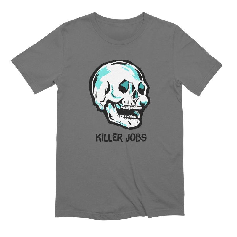 Skull Logo Men's T-Shirt by KILLER JOBS: Serial Killer Podcast
