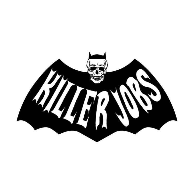 Killer Jobs Batman Logo Men's T-Shirt by KILLER JOBS: Serial Killer Podcast