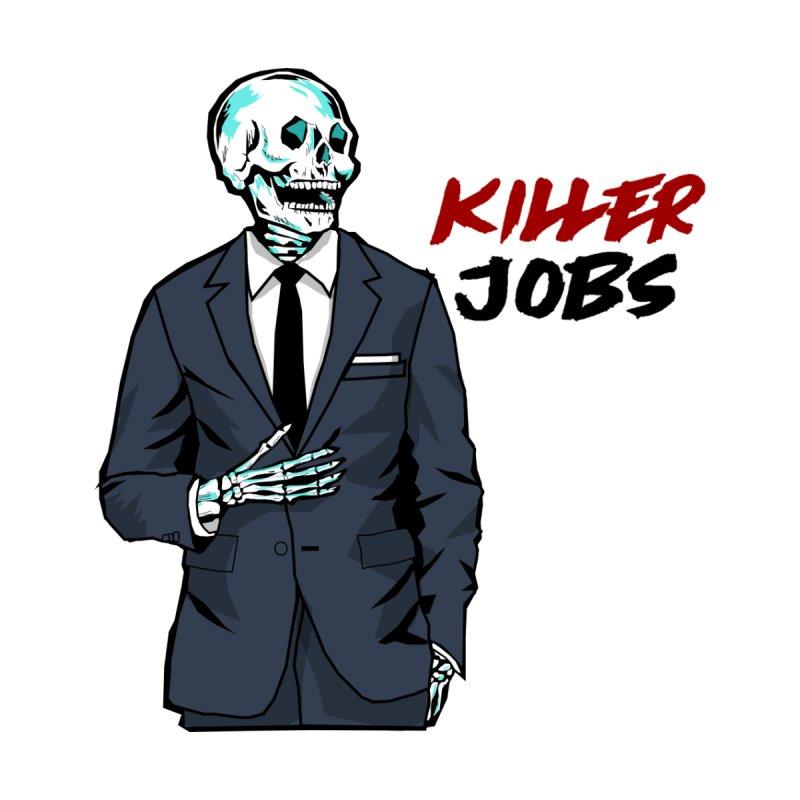 Skeleton Logo T-Shirt Design by KILLER JOBS: Serial Killer Podcast