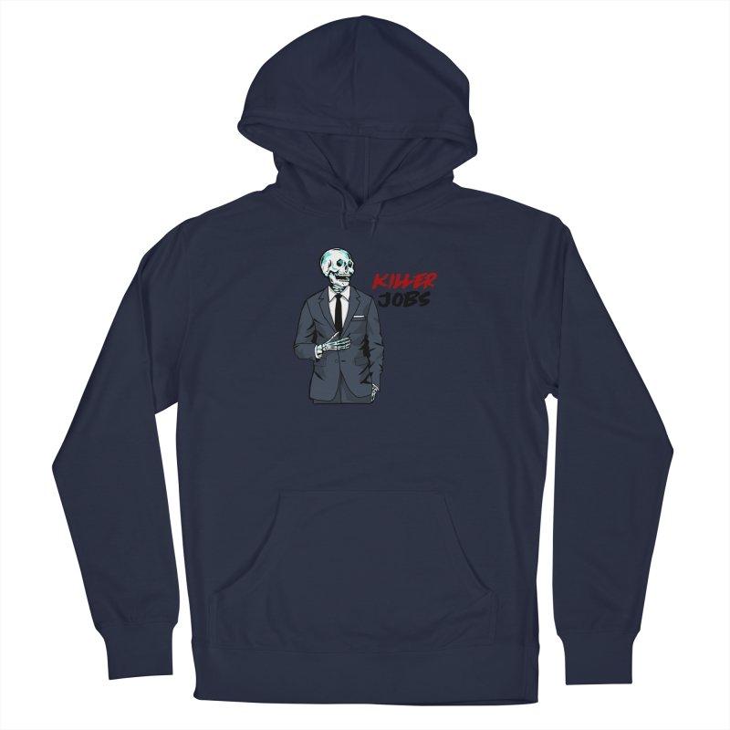 Skeleton Logo Hoodie Design Men's Pullover Hoody by KILLER JOBS: Serial Killer Podcast