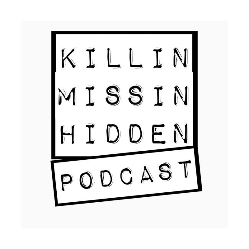 KMH Logo White Men's T-Shirt by Killin Missin Hidden Merch!