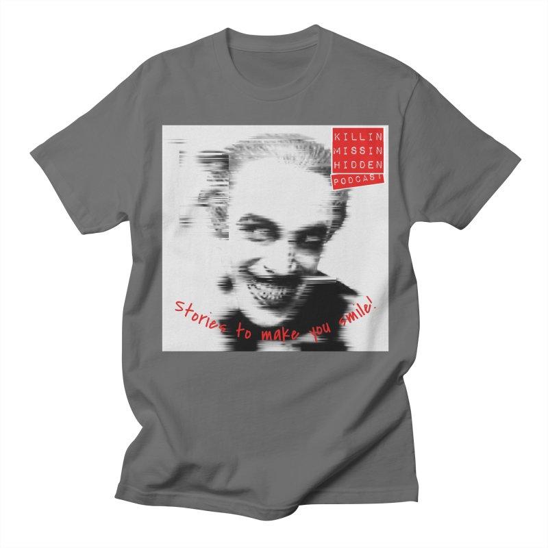 Smile Men's T-Shirt by Killin Missin Hidden Merch!