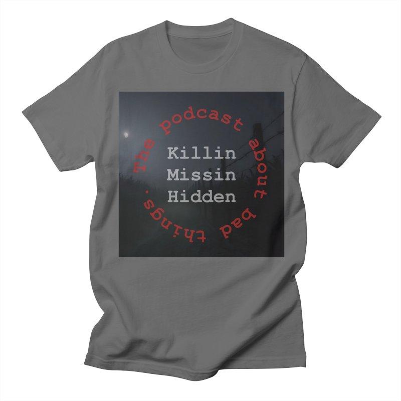 Round Logo Men's T-Shirt by Killin Missin Hidden Merch!