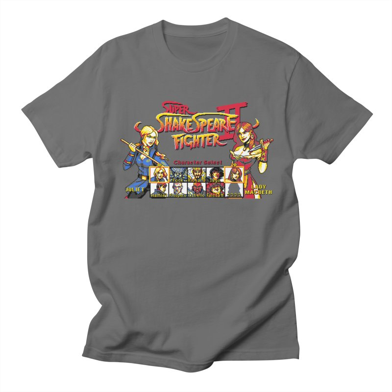 Shakespeare Fighter II in Men's T-Shirt Asphalt by Kill Shakespeare's Artist Shop