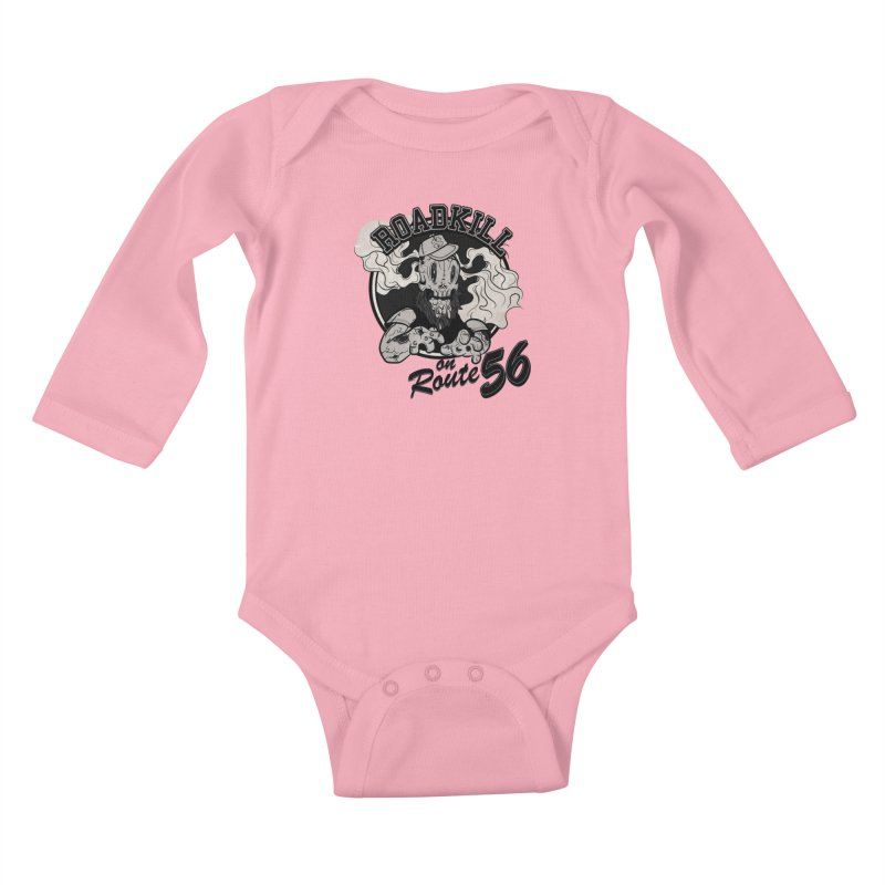 Roadkill Kids Baby Longsleeve Bodysuit by killswitchchris's Artist Shop