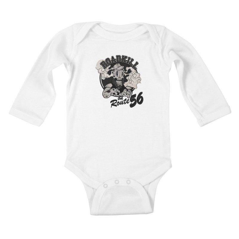 Roadkill Kids Baby Longsleeve Bodysuit by killswitchchris's Artist Shop