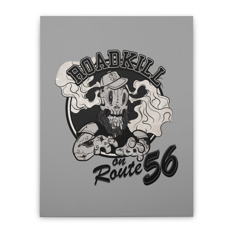 Roadkill Home Stretched Canvas by killswitchchris's Artist Shop