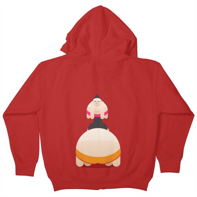 Sumo Kids Zip-Up Hoody by Kilogram Store