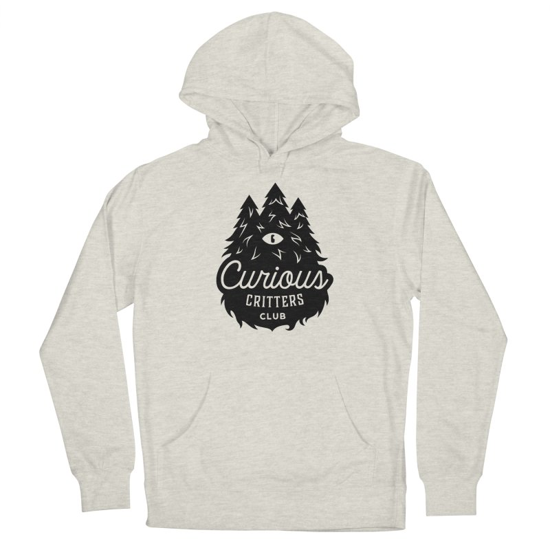 Curious Critters Club - Logo English Men's Pullover Hoody by kilopop's Artist Shop