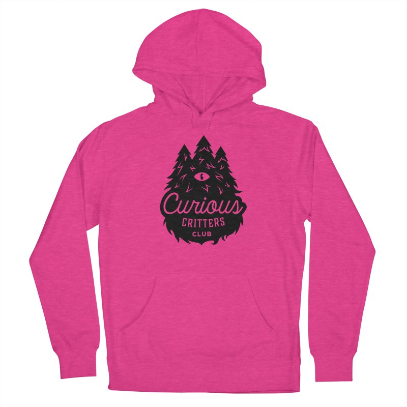 Curious Critters Club - Logo English Men's French Terry Pullover Hoody by kilopop's Artist Shop