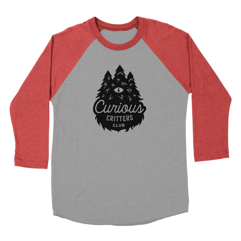 Curious Critters Club - Logo English Women's Baseball Triblend Longsleeve T-Shirt by kilopop's Artist Shop