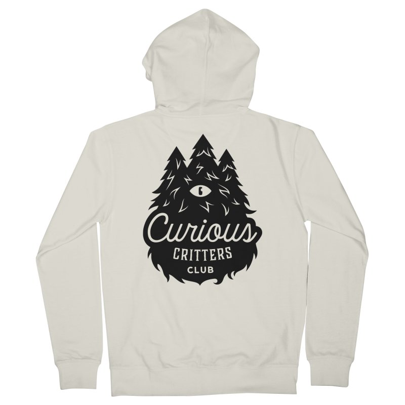 Curious Critters Club - Logo English Women's Zip-Up Hoody by kilopop's Artist Shop