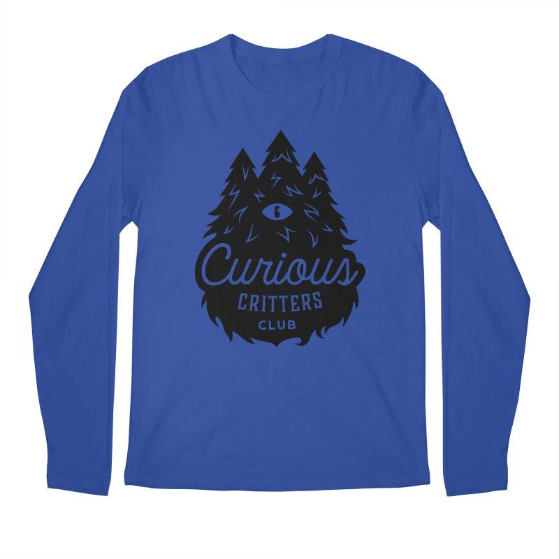 Curious Critters Club - Logo English Men's Longsleeve T-Shirt by kilopop's Artist Shop