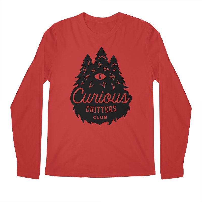 Curious Critters Club - Logo English Men's Regular Longsleeve T-Shirt by kilopop's Artist Shop