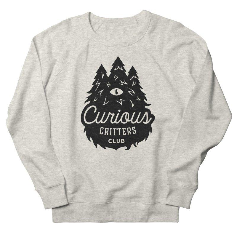 Curious Critters Club - Logo English Women's French Terry Sweatshirt by kilopop's Artist Shop