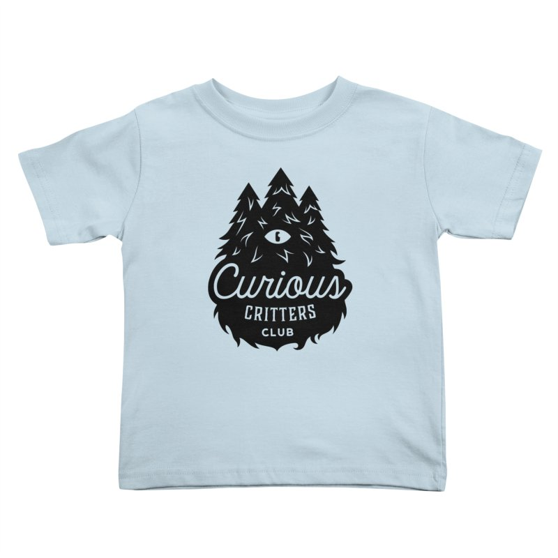 Curious Critters Club - Logo English Kids Toddler T-Shirt by kilopop's Artist Shop