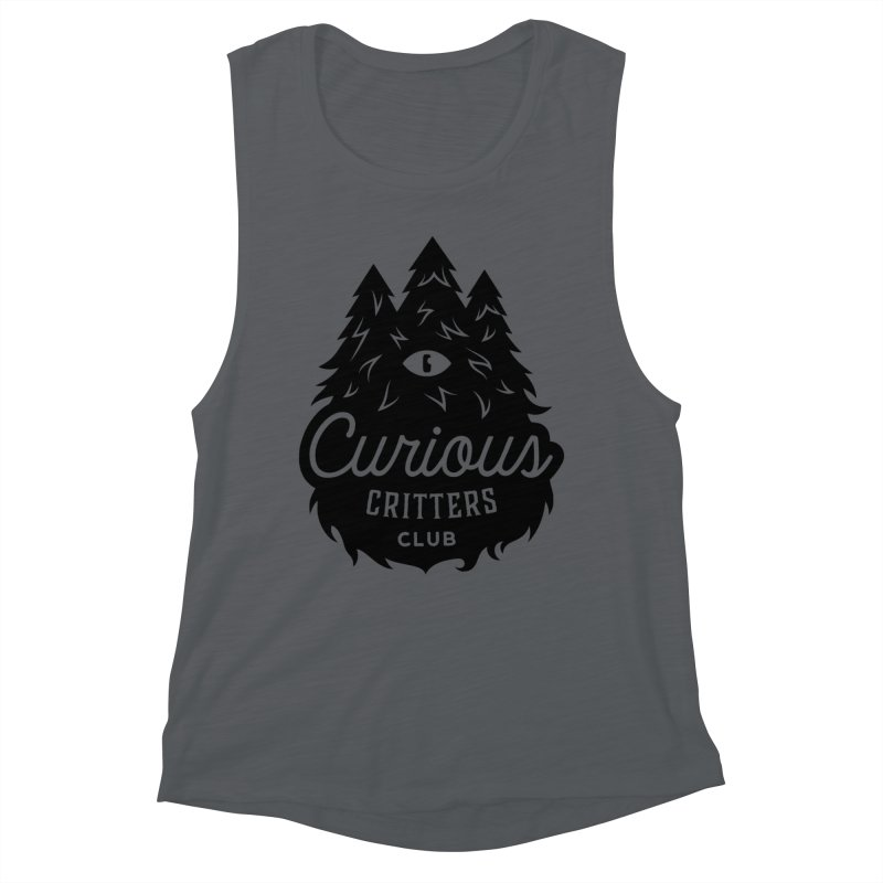 Curious Critters Club - Logo English Women's Muscle Tank by kilopop's Artist Shop