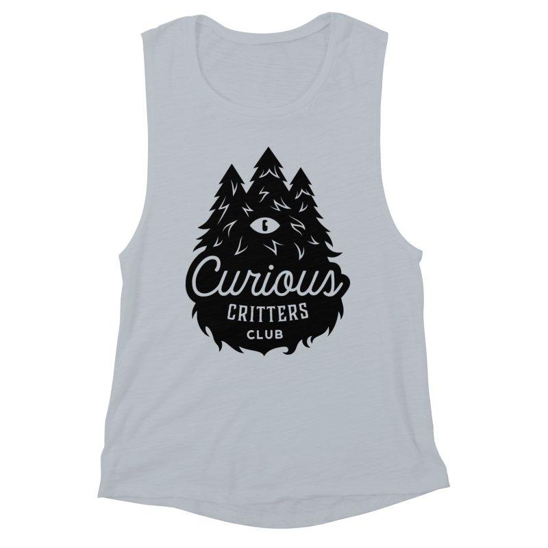 Curious Critters Club - Logo English Women's Muscle Tank by kilopop's Artist Shop