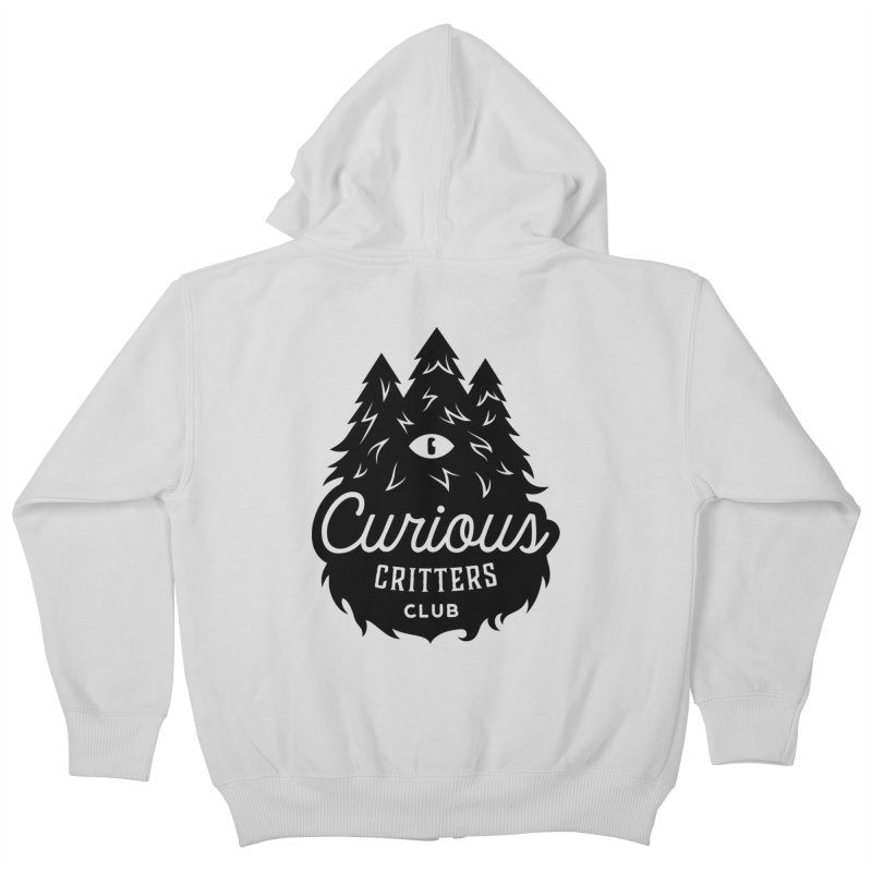 Curious Critters Club - Logo English Kids Zip-Up Hoody by kilopop's Artist Shop