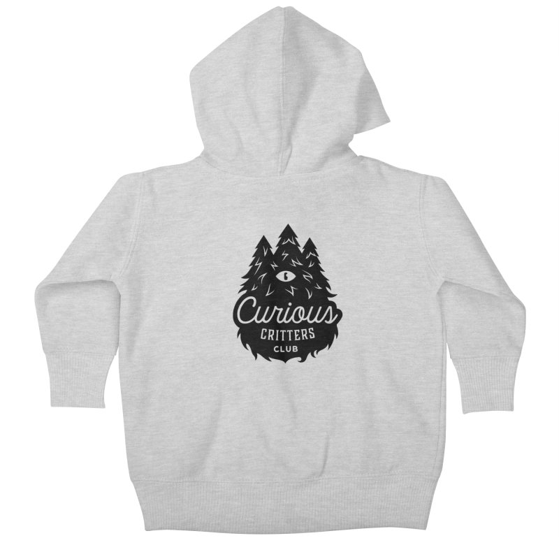 Curious Critters Club - Logo English Kids Baby Zip-Up Hoody by kilopop's Artist Shop