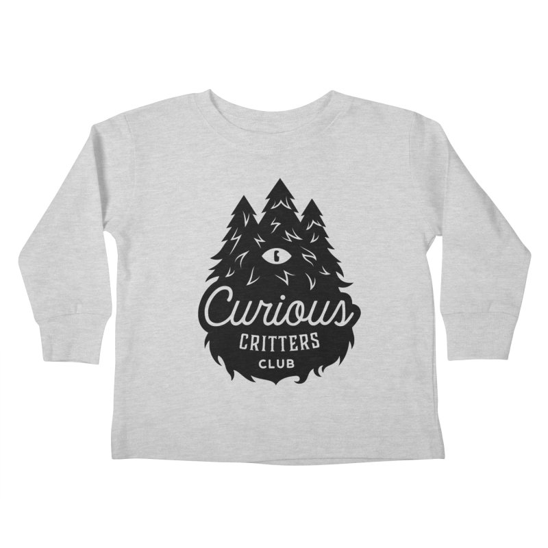 Curious Critters Club - Logo English Kids Toddler Longsleeve T-Shirt by kilopop's Artist Shop