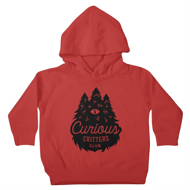 Curious Critters Club - Logo English Kids Toddler Pullover Hoody by kilopop's Artist Shop