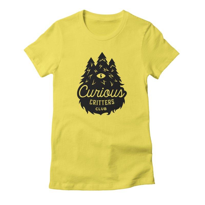 Curious Critters Club - Logo English Women's T-Shirt by kilopop's Artist Shop