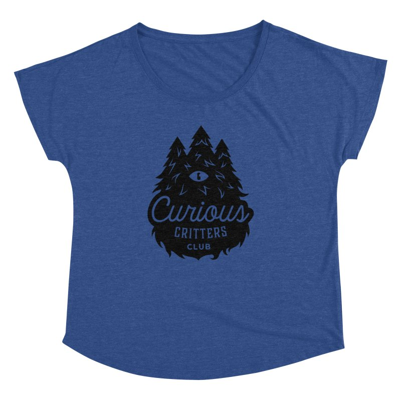 Curious Critters Club - Logo English Women's Dolman by kilopop's Artist Shop