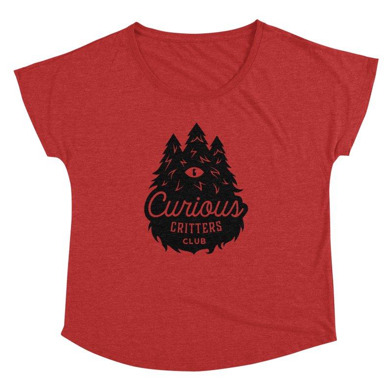 Curious Critters Club - Logo English Women's Dolman by kilopop's Artist Shop