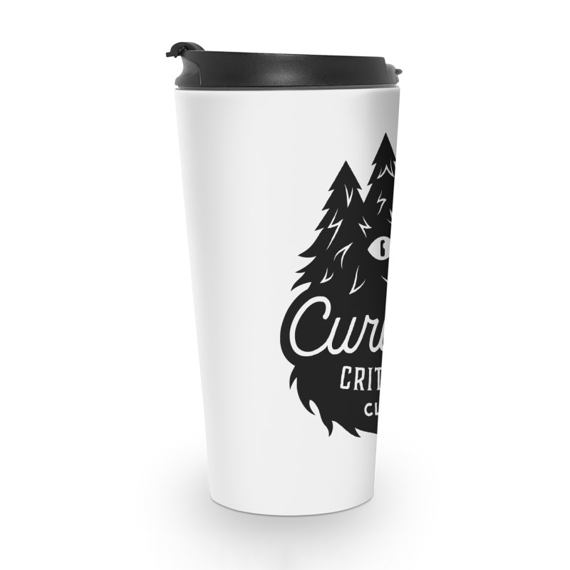 Curious Critters Club - Logo English Accessories Travel Mug by kilopop's Artist Shop