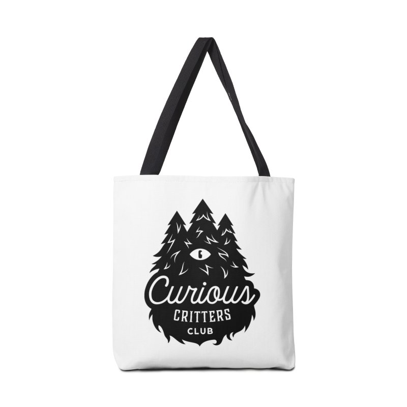 Curious Critters Club - Logo English Accessories Bag by kilopop's Artist Shop