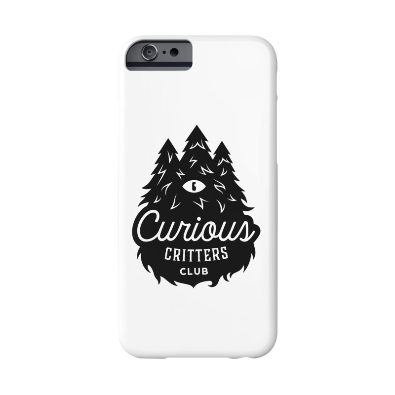 Curious Critters Club - Logo English Accessories Phone Case by kilopop's Artist Shop
