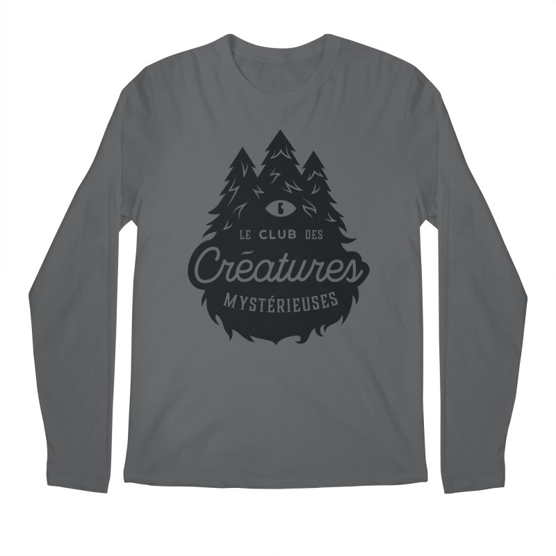 Curious Critters Club - Logo French Men's Longsleeve T-Shirt by kilopop's Artist Shop