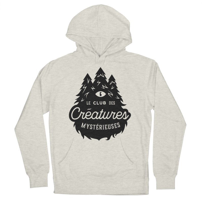 Curious Critters Club - Logo French Men's French Terry Pullover Hoody by kilopop's Artist Shop