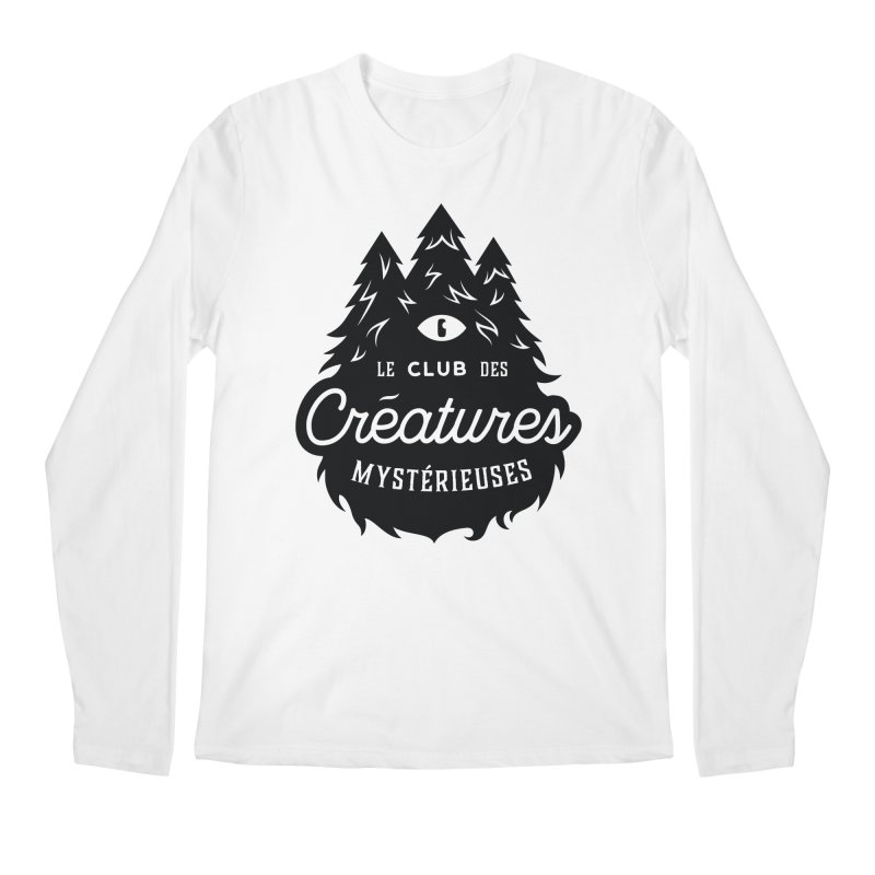 Curious Critters Club - Logo French Men's Regular Longsleeve T-Shirt by kilopop's Artist Shop