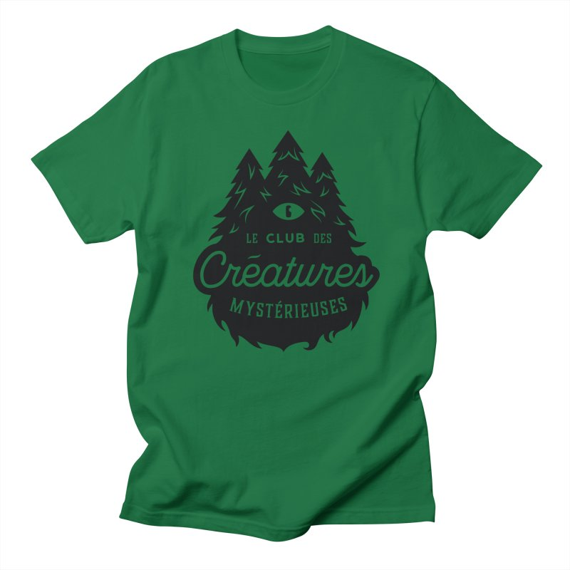 Curious Critters Club - Logo French Women's Regular Unisex T-Shirt by kilopop's Artist Shop