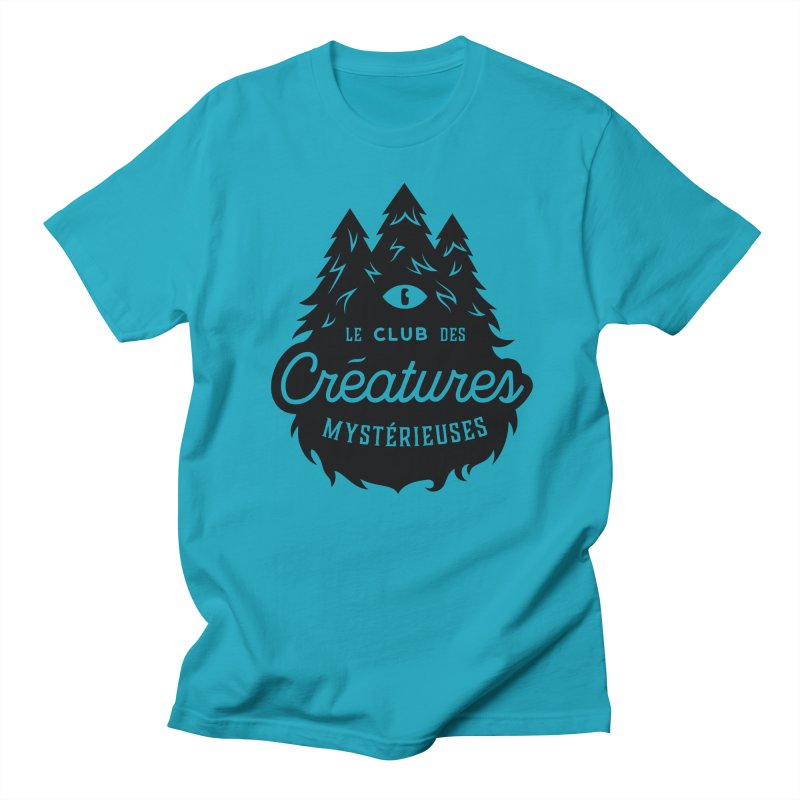 Curious Critters Club - Logo French Men's T-Shirt by kilopop's Artist Shop