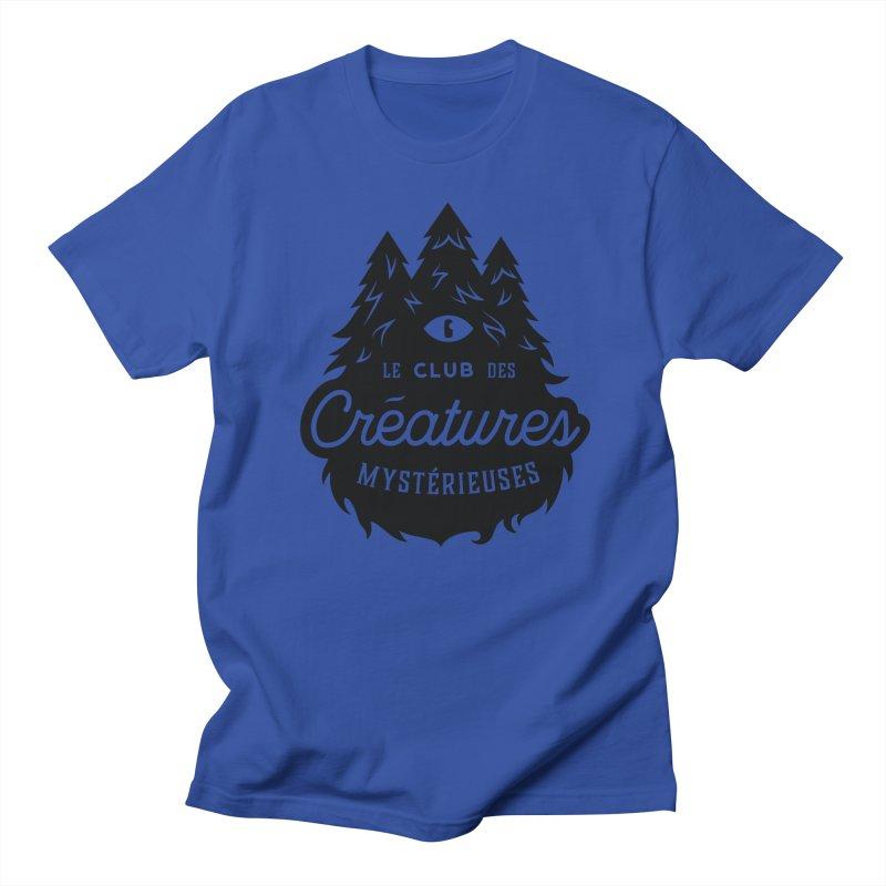 Curious Critters Club - Logo French Men's T-Shirt by kilopop's Artist Shop