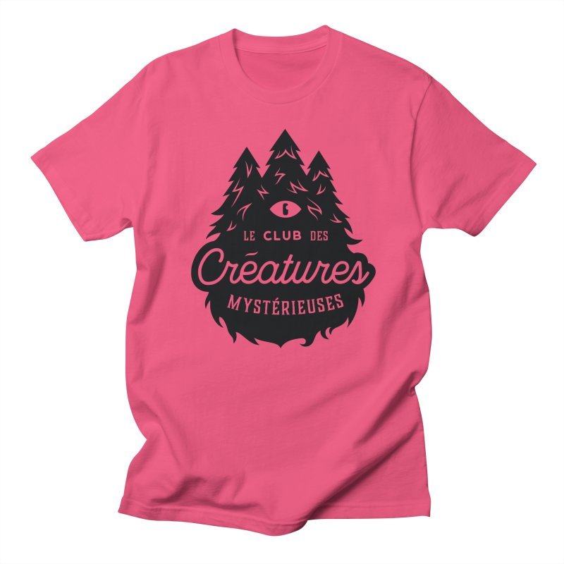 Curious Critters Club - Logo French Men's Regular T-Shirt by kilopop's Artist Shop
